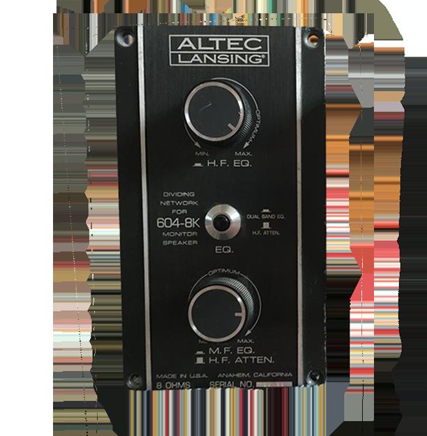 Altec 604 8K filter